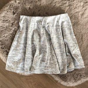 🌻UB🌻Skater Circle Skirt in Heather Gray